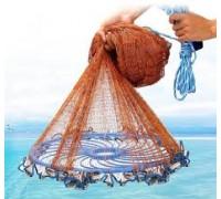 Кастинговая сеть из кордовой нити