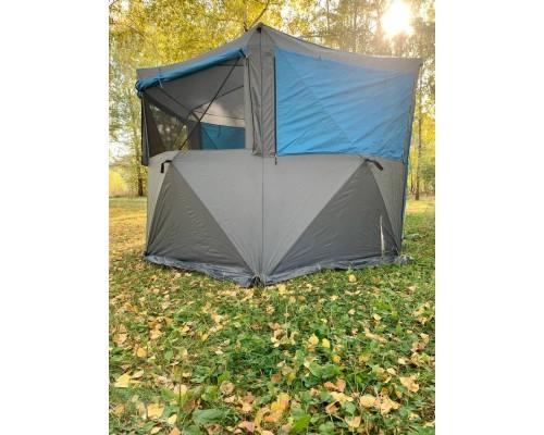 Палатка куб шестигранная 300х300х225 см.