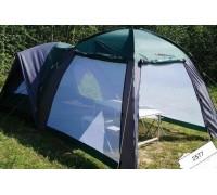 Палатка + шатер 4 местная двухслойная 470х250х190 см.